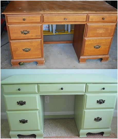 Diy Painted Thrift Store Desk Centsational Girl