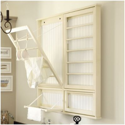 Diy Laundry Room Drying Rack Centsational Girl