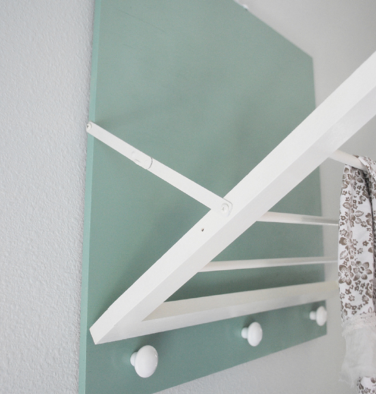 ... Girl » Blog Archive DIY: Laundry Room Drying Rack - Centsational Girl