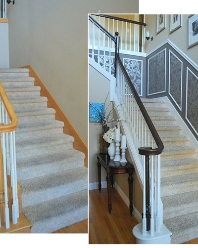 staircase before and after 1