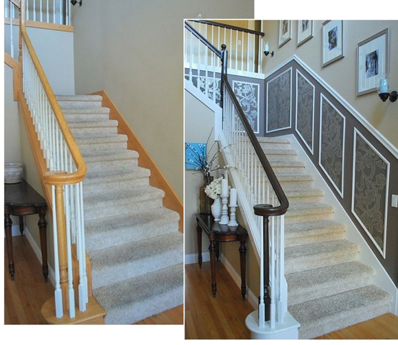 The Staircase Reveal Part One Centsational Style