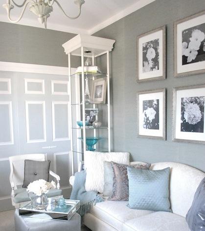 Grasscloth Accent Wall Bedroom