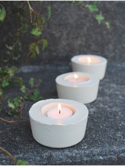 lighted path candleholder