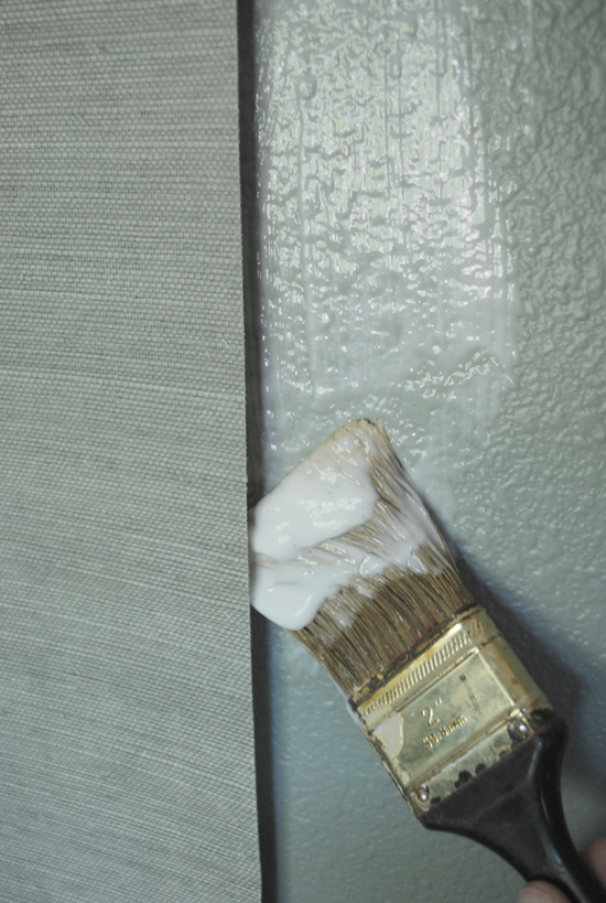 grasscloth wallpaper painted - photo #21