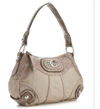 guess croco embossed medium hobo