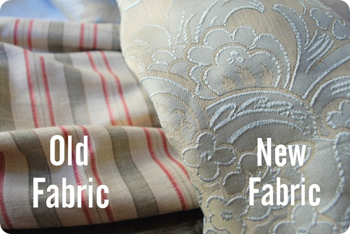 old new fabric
