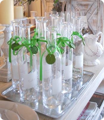 vintage home wine bottles