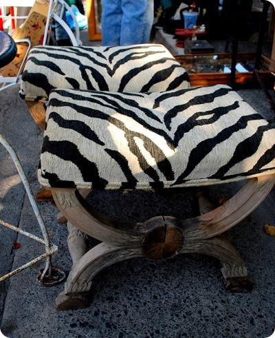 zebra stools