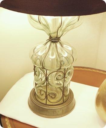 antique fair lamp