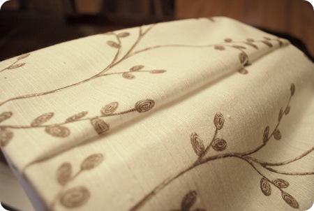 foldover fabric