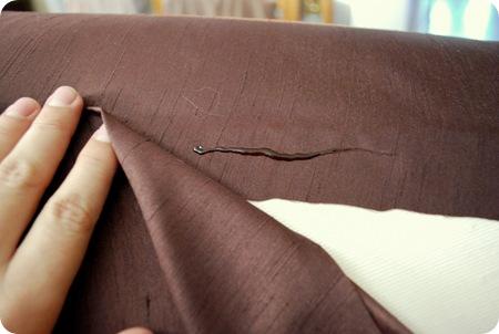 hot glue fabric