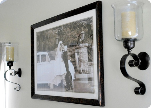 sconces and photo
