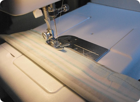 sew ties inside out