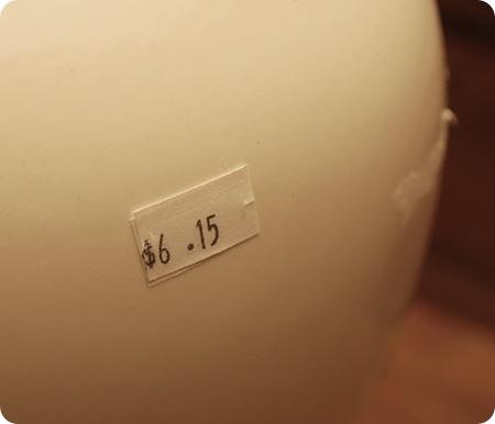 thrift store lamp price
