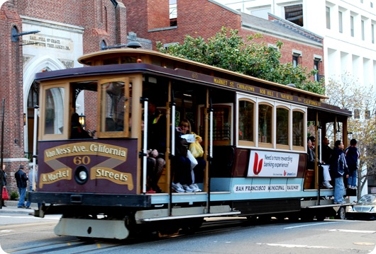 cable car chinatown