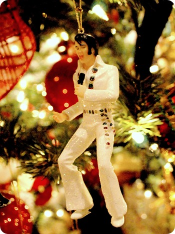 elvis ornament