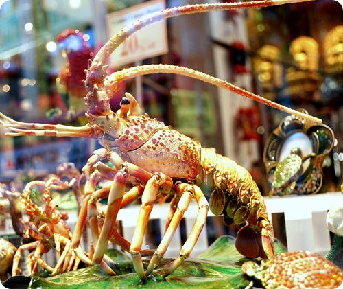 jeweled lobster