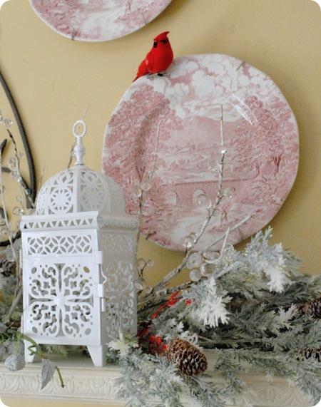 lantern and bird