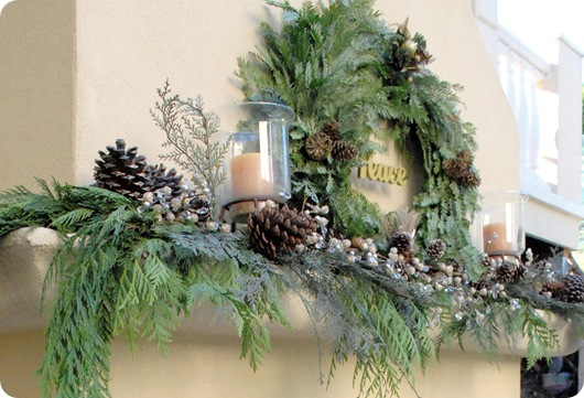 outdoor mantle