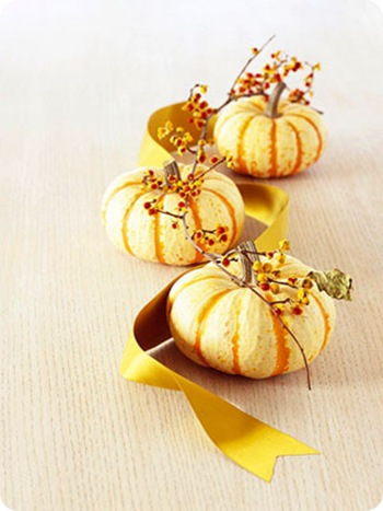 striped pumpkins bhg
