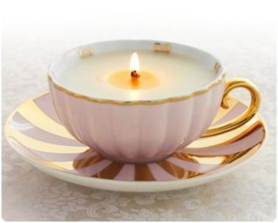 cambria cove teacup candle