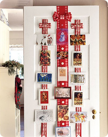 christmas card display country living