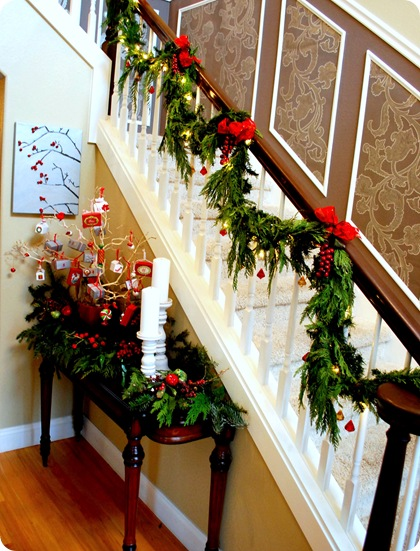 front entry christmas