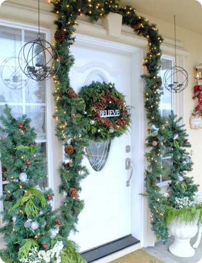 front porch from left