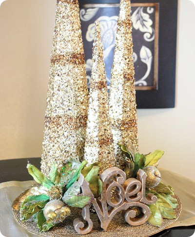 golden trees noel