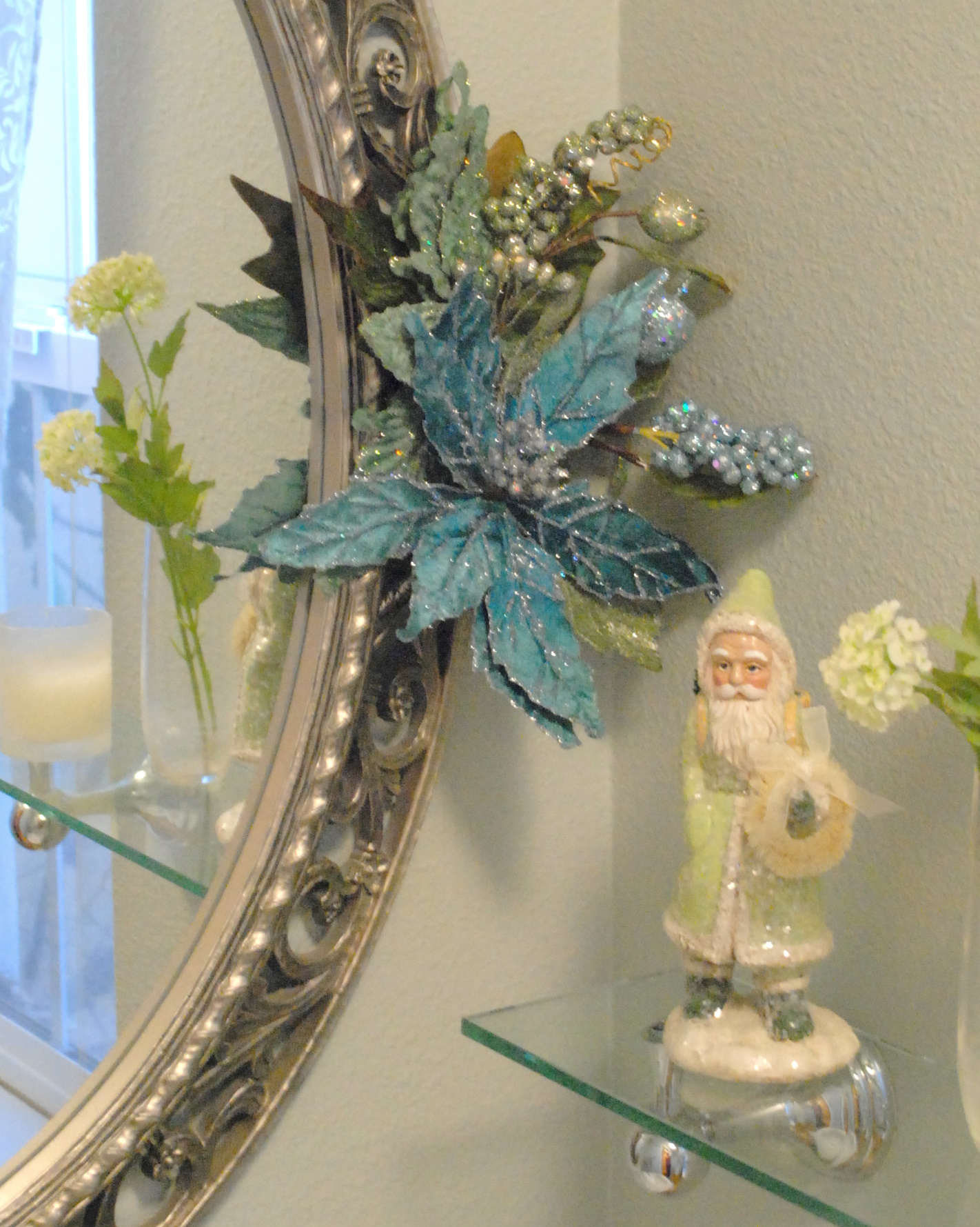 half bath close up