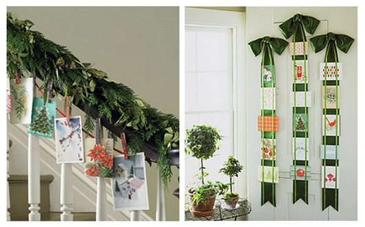 martha staircase and ribbon display