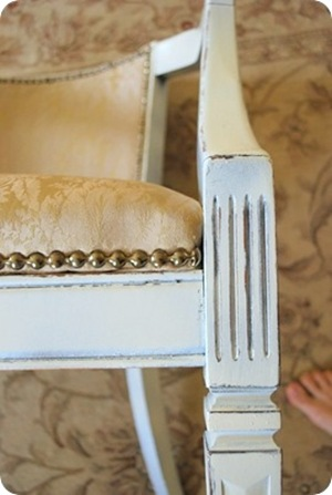nailhead trim chair