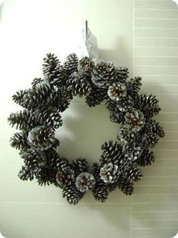 pine cone wreath 46