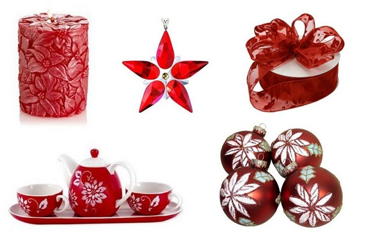 poinsettia decor