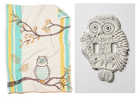 anthropologie owls
