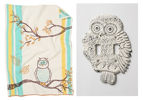 anthropologie owls