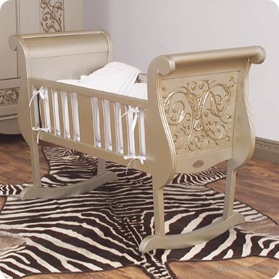 baby cradle bratt decor