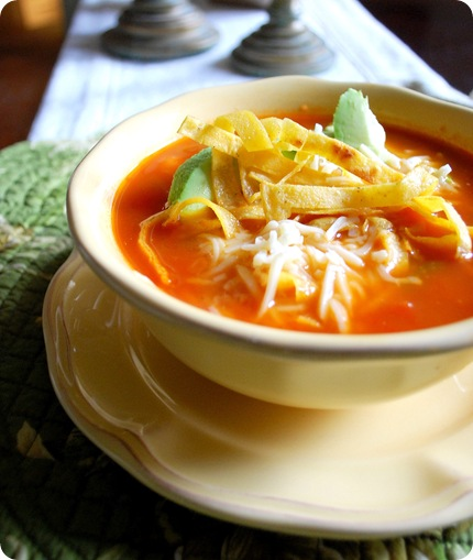Fiesta of Flavor: Chicken Tortilla Soup | Centsational Girl