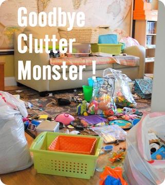 clutter monster