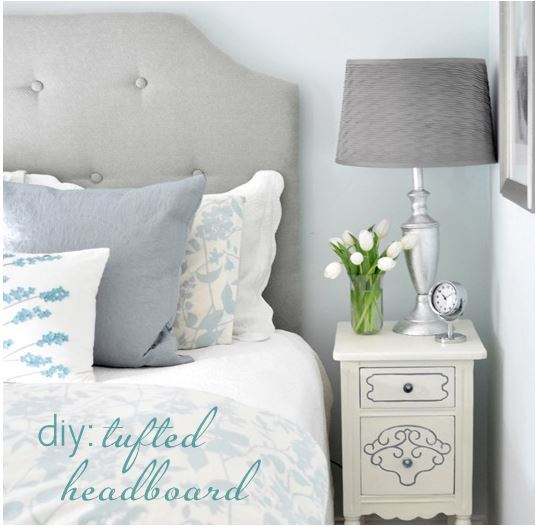 diy twin tufted headboard 2