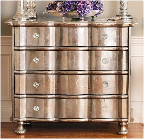 Design Fixation Metallic Finishes On Furniture Centsational Girl