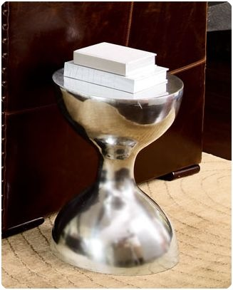 hourglass sidetable horchow