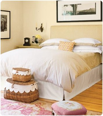 neutral headboard country living