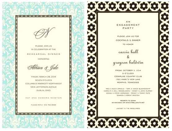noteworthystyle invitations
