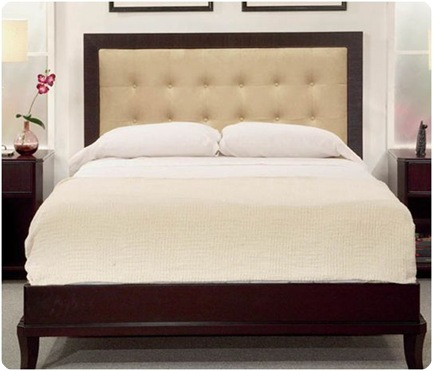 overstocks upholstered headboard