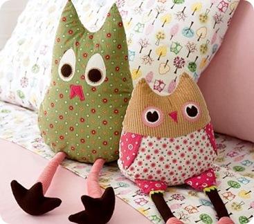 plush owl pb kids