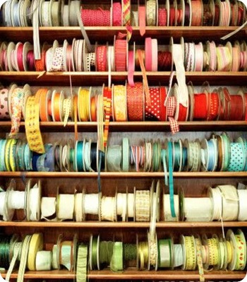 ribbon spools getty images