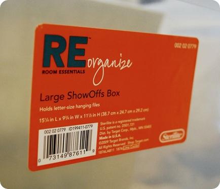 show offs box