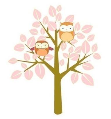 spring owl print etsy