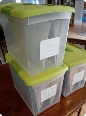 stacking files